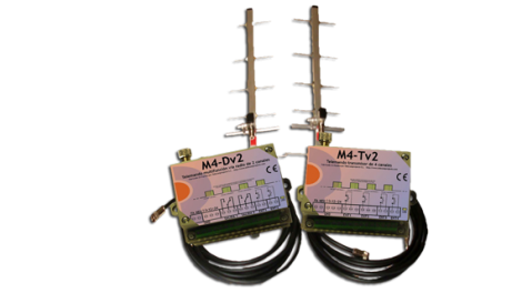 EL CONJUNTO KIT M4-D V2 + M4-T V2, 2 CANALES REF. TKC-133